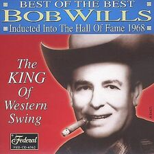 Bob Wills- Hall of Fame (Federal 6562 NEW CD)