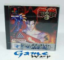 Tekken 3 III (PS1) - PAL - ENG/ITA/SPA/FRE/GER - NUOVO - NEW - SEALED