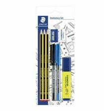 Staedtler Stationery Set Pencils Pens Highlighter Sharpener Eraser - Clearance!