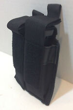 MOLLE Pistol Dual Magazine Pouch Single/ Double Stack Mag 9mm 45 Black