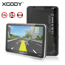 XGODY 5'' Zoll GPS Navi Navigation für Auto LKW PKW Navigationsgerät 8GB + 128MB