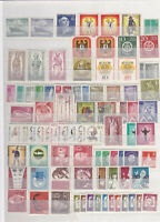Germany WEST BERLIN MNH Collection 1955-1990 compl.+ booklet stamps! CAT 1200EUR