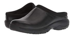 Merrell Encore Rexton Slide Leather AC+ Black Moc Slip-On Men's sizes 7-15 NIB!!
