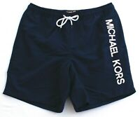 Michael Kors Midnight Blue Brief Lined Swim Trunks Shorts Men's NWT