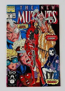 New Mutants #98 First Deadpool Appearance 1st App Hot Key Grail No Reserve!