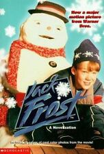 Jack Frost by Jennifer Baker  (1998) with 16 pages of color photos from movie