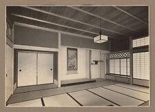 1930s Pre-War Japanese Architect House Photo Album Chashitsu