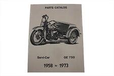 Servi-Car Parts Book For Harley-Davidson