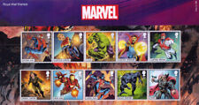 GB 2019 Royal Mail Marvel u/m stamp and miniature sheet presentation pack 568