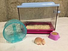American Girl McKenna Girl Of The Year Hamster with Cage Wheel Bowl
