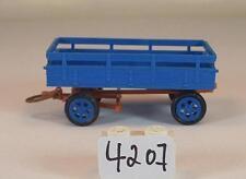 1/87 Landwirtschaftlicher Anhänger blau 2 #4207