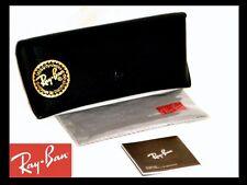 Ray-Ban Wayfarer Clubmaster Aviator Black Sunglasses BOX CASE & Clot
