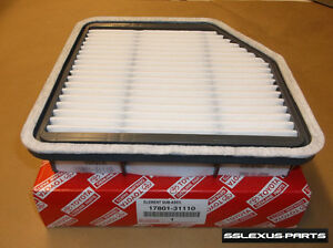 Lexus IS250 IS350 (2006-2013) OEM Genuine FACTORY ENGINE AIR FILTER 17801-31110