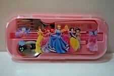 NEW Princess Ariel Aurora Belle Cinderella Chopsticks Spoon Folk Tableware SET