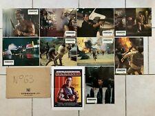 COMMANDO avec Arnold SCHWARZENEGGER - 9 photos Lobby Cards + Synopsis
