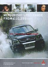 Mitsubishi L200 CVOTR 2005 Magazine Advert #2136