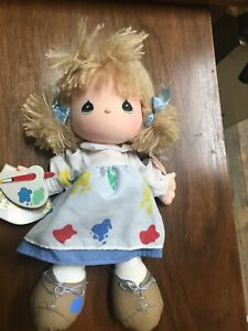 Precious Moments Beatitude Collection Doll Painter Pure Of Heart