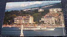 Switzerland Geneve Le Mont Blanc et le Bateau-Salon Helvetie - posted