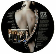 WHITESNAKE SLIDE IT IN SPECIAL US REMIX VERSION VINYL LP PICTURE PIC DISC