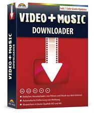 Video und Musik Downloader - Perfekt für Youtube, Vimeo, Mediatheken usw.