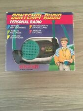 Bontempi Personal Radio & Head Phones - Boxed With Instructions
