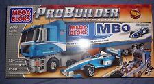 NIB MEGA BLOKS PROBUILDER MASTER SERIES RACING RIG - 9744 Collectors item RARE!!