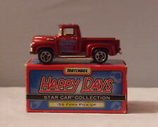 MJ7 Matchbox - Promotionals - 1956 Ford Pick-Up Trk - Red - James Wood H.S. 45th