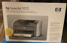 New Factory Sealed HP LaserJet 1012 Printer Q2461A