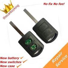 Repair service for Vauxhall Corsa 2 button remote key fob complete refurbishment