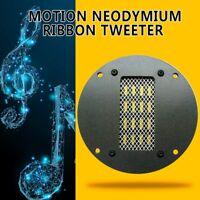 1PC High Sensitivity Air Motion Neodymium Ribbon Tweeter 30W/60W(Max) 8Ω 98dB