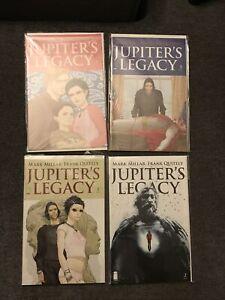 Jupiter's Legacy #1 2 3 4 1-4 Mark Millar Netflix TV Hot