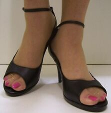 Stiletto Peep Toes Synthetic Shoes for Women