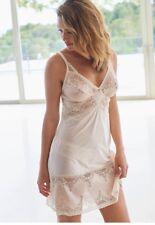 New Charnos Bridgette Nude Chemise Nightdress PJS Pyjamas UK XL 16-18 UC10