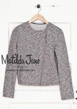 NWT Matilda Jane Womens XS 2-4 Hello Lovely Afternoon Drive Moto Jacket Sweater