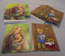 Barth, Christmas Cards, Religious 50 Cards Never Used & Envelopes U.S.A. Vintage