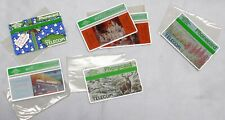 PHONECARDS, BT, 6 ASSORTED, ALL IN SLEEVES AND MINT
