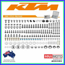 ACCELL EUROPEAN KTM PRO PACK FACTORY BOLT KIT  EVERY BOLT YOU NEED
