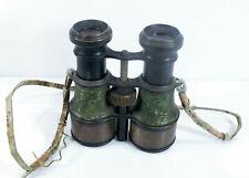 WWI very rare original binoculars German Officer Malige vergrosserung 5