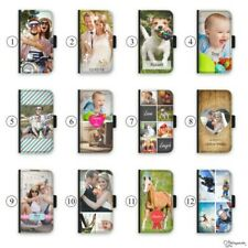 Personalised Photo Effects Initial Deluxe PU Leather Phone Case For Apple