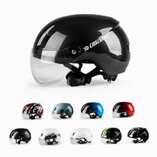 Sports Cycling Safety Helmet Mountain Bike Helmet Unisex Bicycle Helmet Goggles