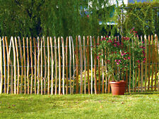 Staketenzaun Haselnusszaun Bauerngarten englischer Kastanienzaun Edelkastanie