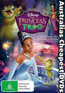 The Princess And The Frog DVD NEW, FREE POSTAGE WITHIN AUSTRALIA REGION 4
