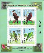 HONDURAS 2004  Birds Mini Sheet MINT NH