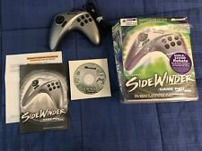 Microsoft SideWinder USB Game Pad Pro Controller Complete Vintage PC