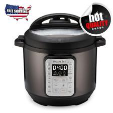 🎇Instant Pot VIVA Black Stainless 6Qt 9in1 MultiUse Pressure Cooker🎇