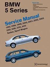 BMW Série 5 service manual 1997-2003 (E39): 525i, 528i, 530i, 540i, Sedan, Spor