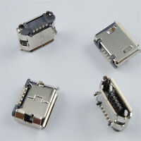 Durable 10 Pcs Micro USB B Female Type 5 Pin SMT Socket Connector Hot