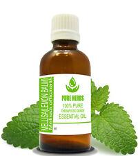 Mellisa Lemon balm 100% Pure & Natural Uncut Melissa officinalia Essential Oil