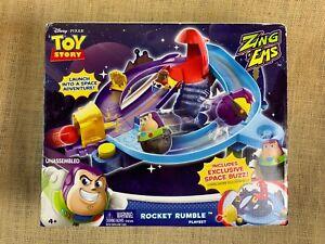 Disney Pixar Toy Story Zing 'Ems Rocket Rumble Playset w/ Exclusive Space Buzz