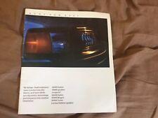 1985 Audi 4000 5000 Full Line USA Market Original Color Brochure Prospekt